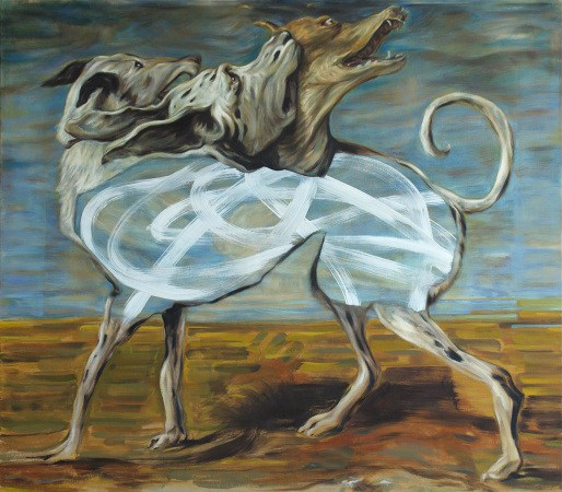 Marco Piemonte - Nude II (Nude Series) - 2018 - Oil on cavas - 70x80cm