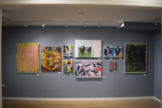 Young London Painters Install Shot